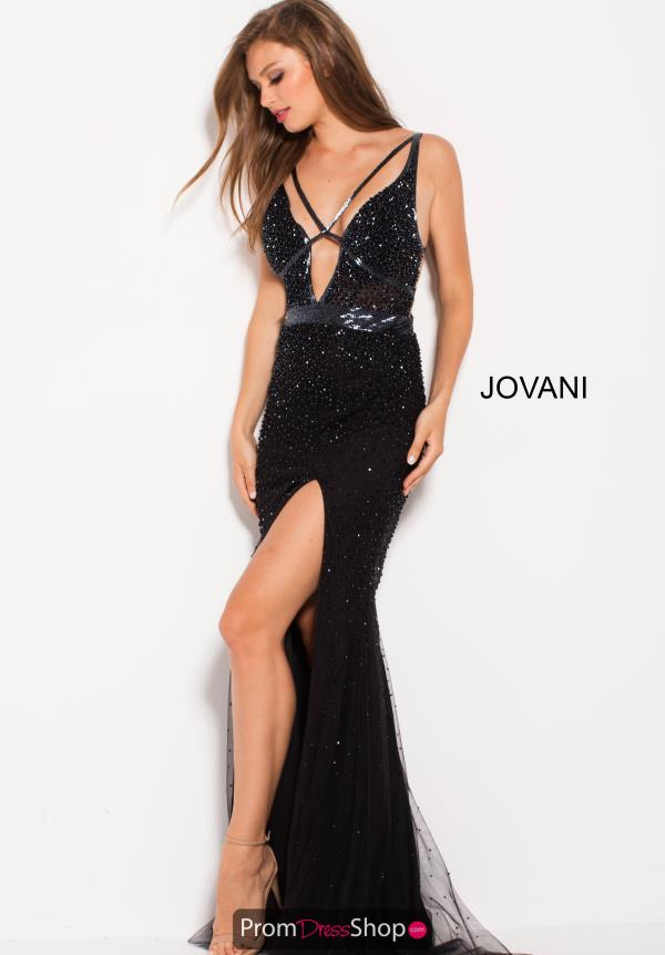 Jovani Sexy V- Neckline Dress 60404
