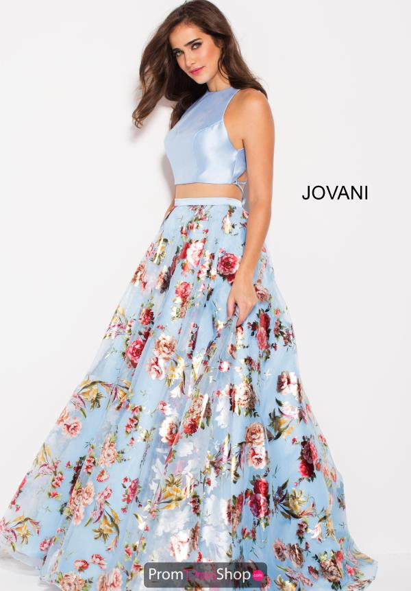 Jovani Long Print Dress 60570