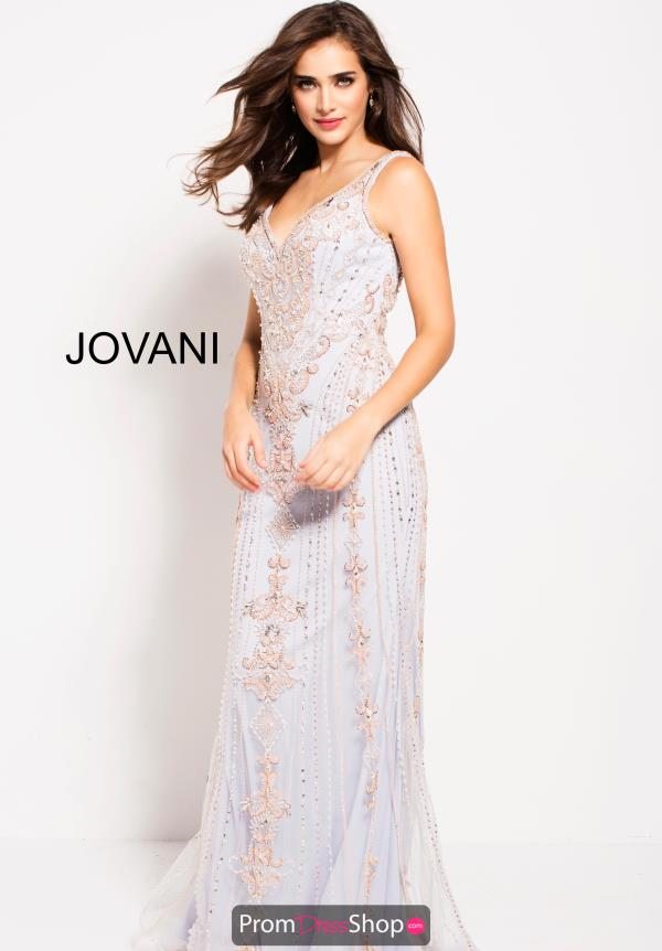 Jovani Fitted Long Dress 60829