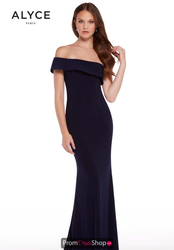 Aylce Paris Single Shoulder Jersey Dress 59997