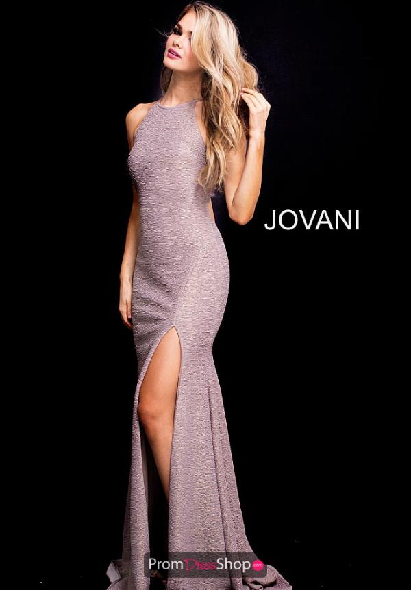 Jovani High Neckline Fitted Dress 58548