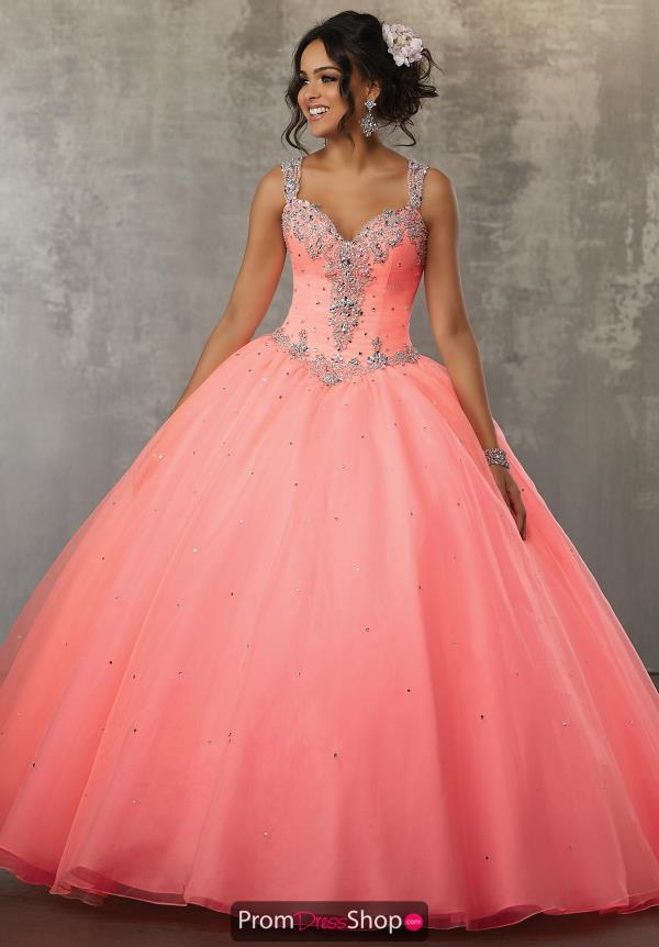 Vizcaya Quinceanera Beaded Ball Gown 60037
