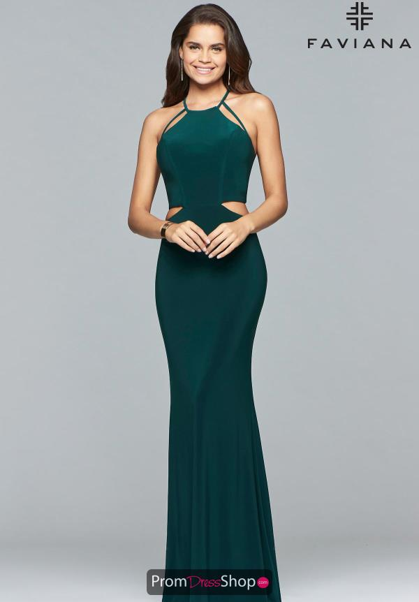 Favianna Jersey Sexy Back Dress 10014
