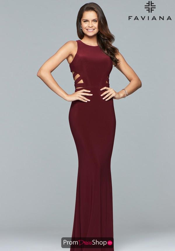 Faviana Sexy Fitted Dress 8018