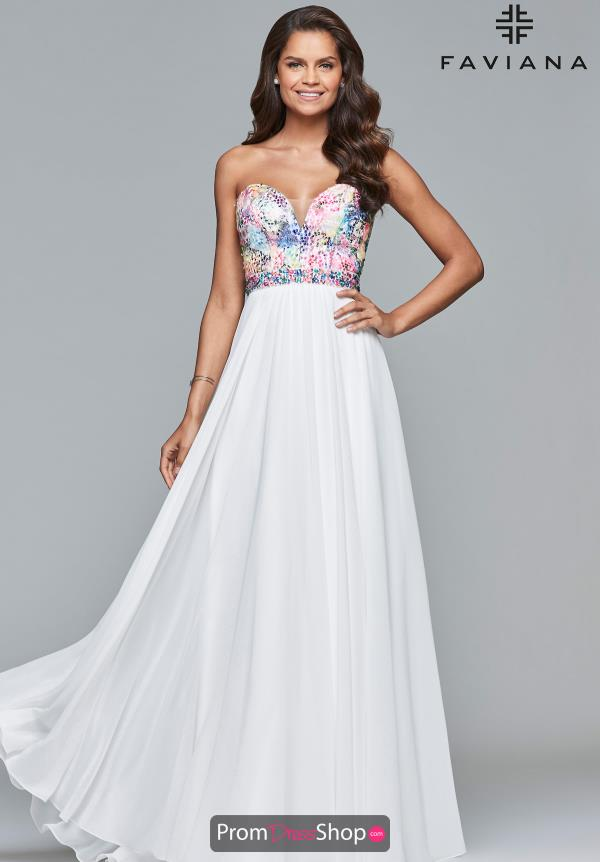Faviana Sweetheart Strapless Dress S10065