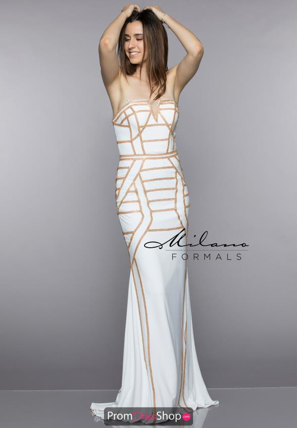 Milano Formals Fitted Mermaid Dress E2303