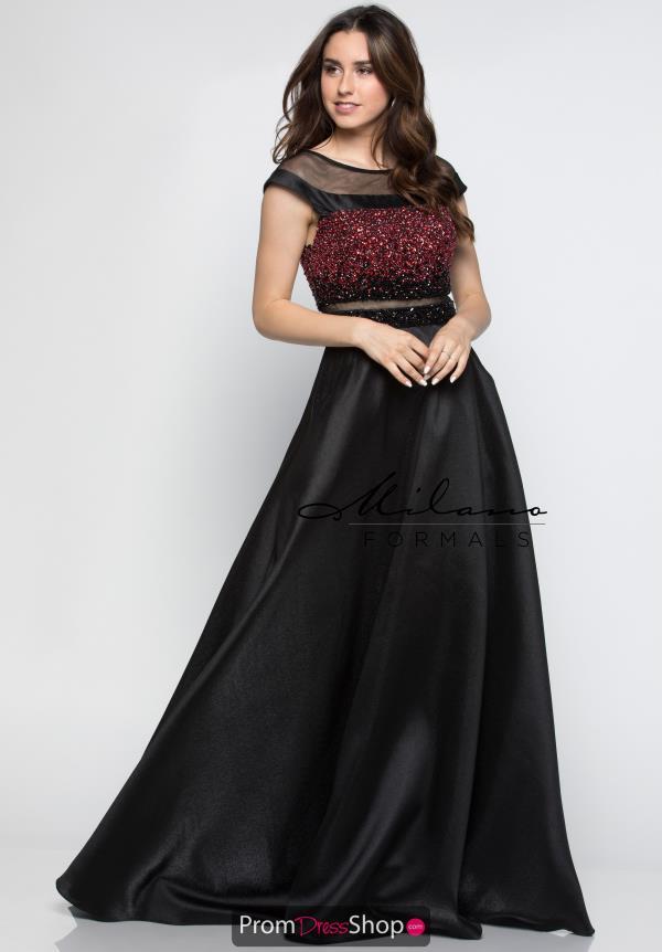 Milano Formals Dress E2326 | PromDressShop.com