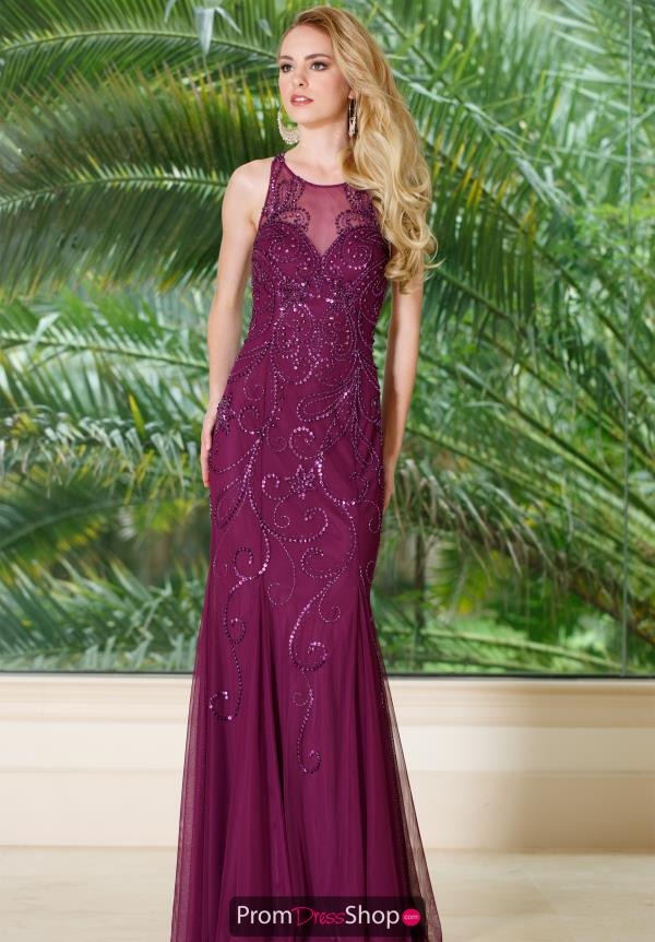 Sean Long Fitted Dress 51047