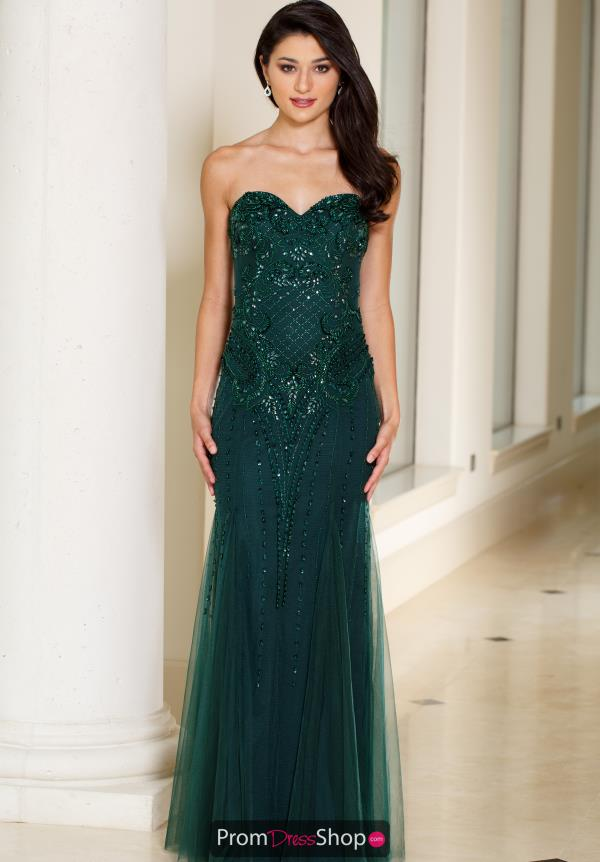 Sean Strapless Long Dress 51051