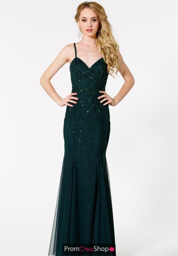 Sean Sweetheart Neckline Beaded Dress 51054