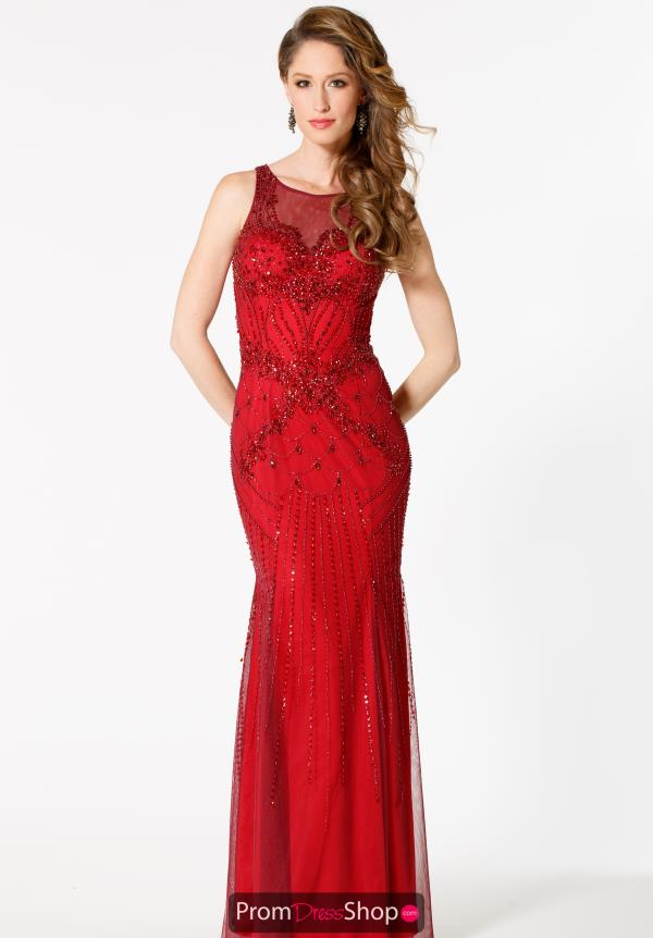 Sean Beaded Long Dress 51056