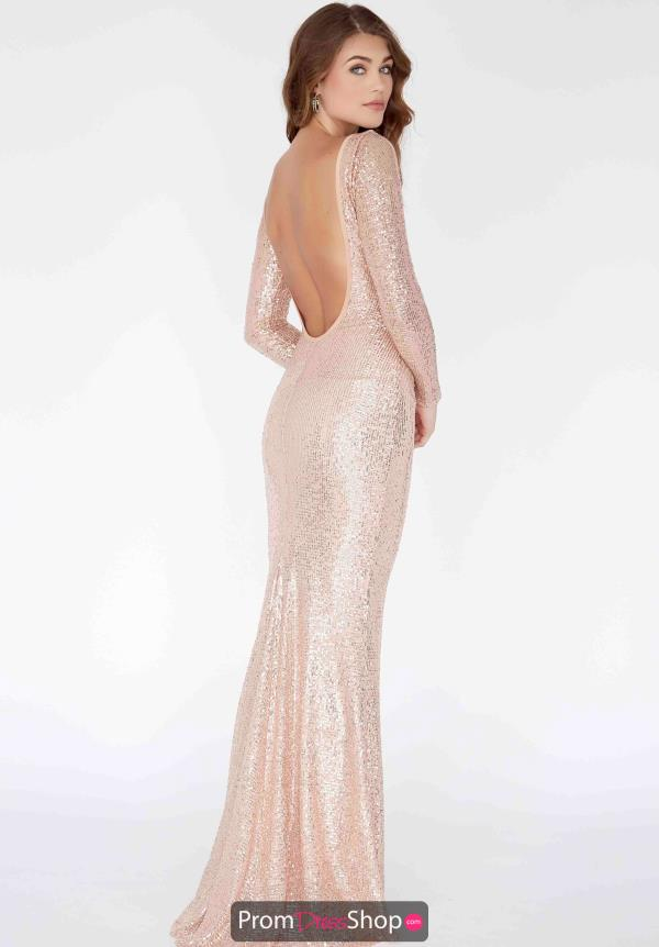 Jolene Sequined Open Back Dress E80012
