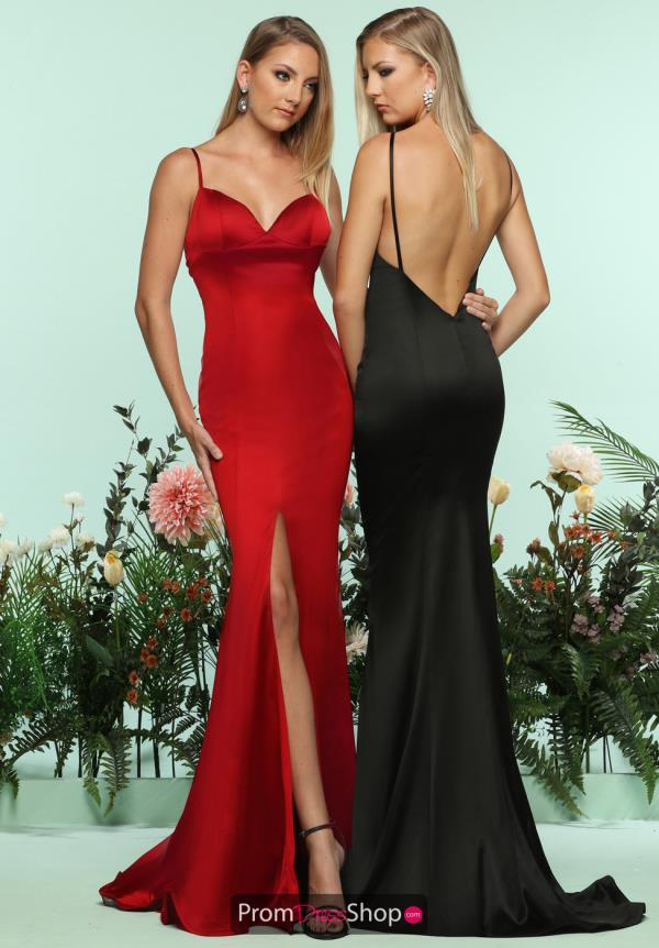 Zoey Grey Open Back Fitted Dress 31133