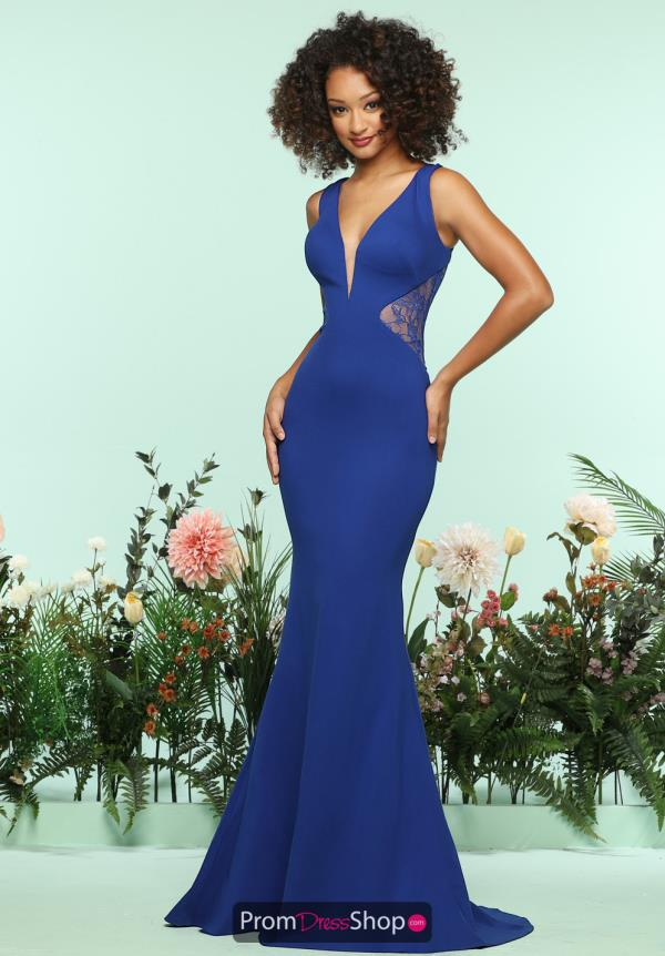 Zoey Grey Long Fitted Dress 31145