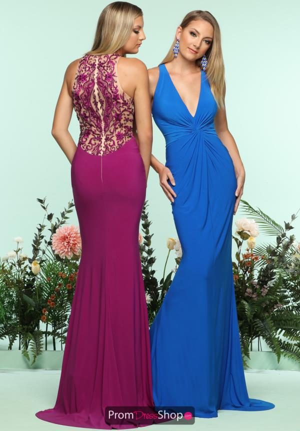 Zoey Grey Fitted Beaded Dress 31161