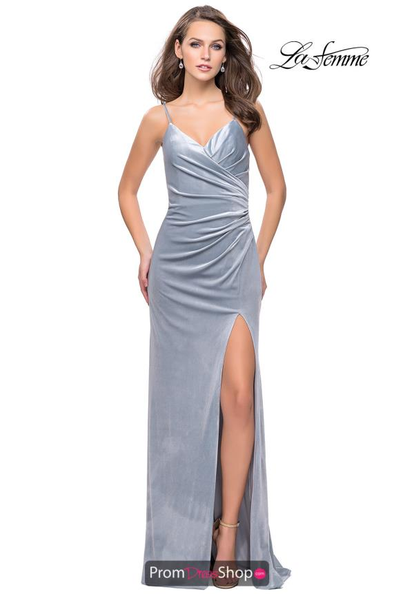 La Femme Sweetheart Fitted Dress 25184