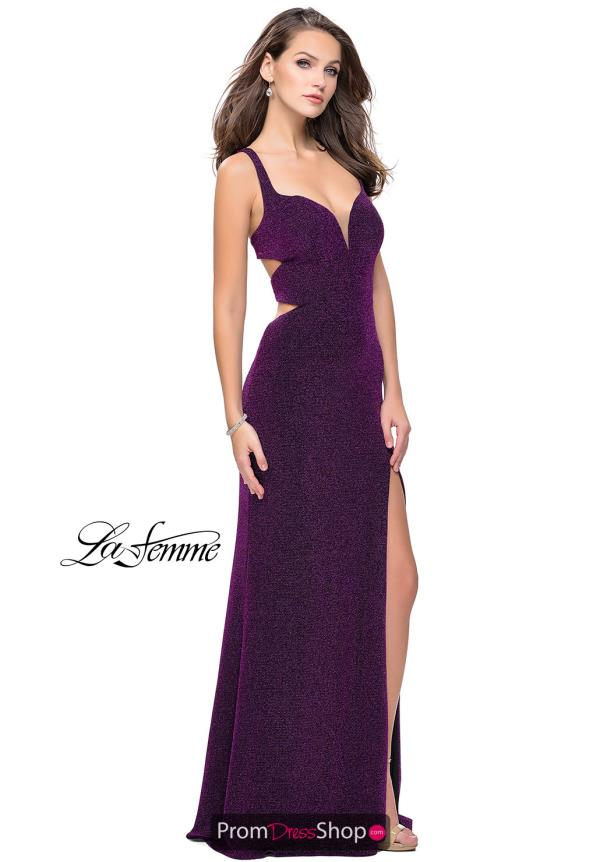 La Femme Sweetheart Fitted Dress 25215