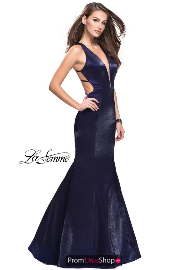 La Femme Mermaid Long Dress 25494