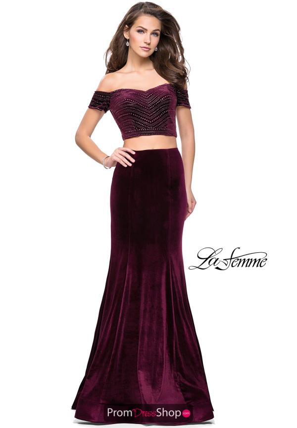 La Femme Cap Sleeve Fitted Dress 25496