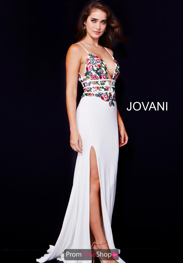Jovani Fitted Jersey Dress 61150