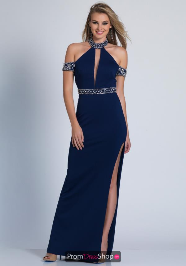 Fitted Dave and Johnny Dress 3404