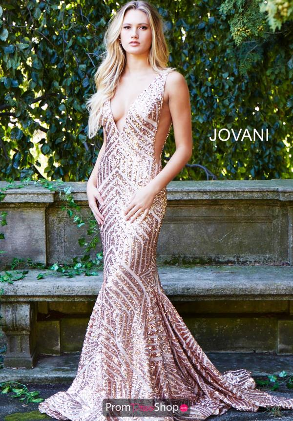 Jovani Long Sequins Dress 59762