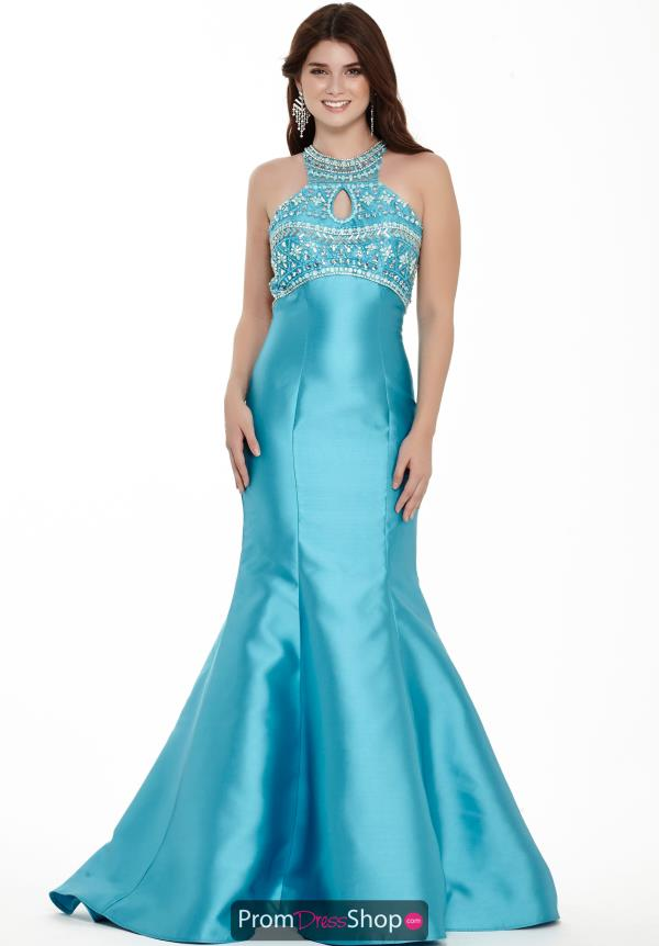 Jolene Beaded Mikado Dress 17114