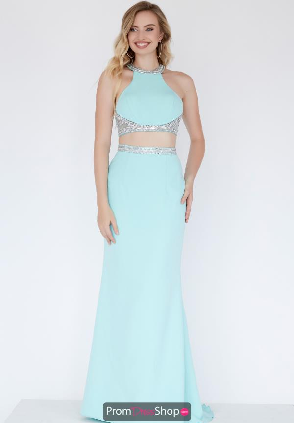 Jolene Fitted Two Piece Dress 18001