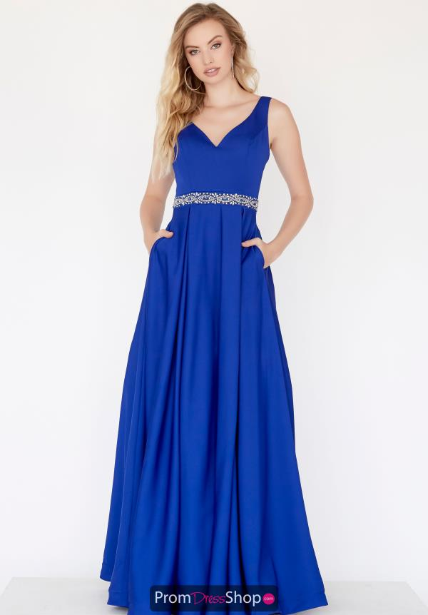 Jolene Crepe Beaded Dress 18035