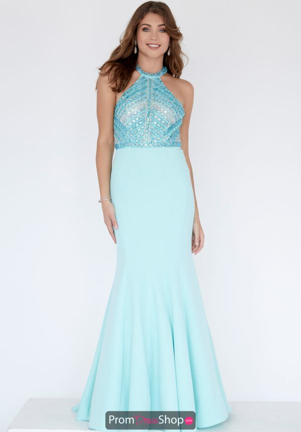 Jolene Beaded Crepe Dress 18304