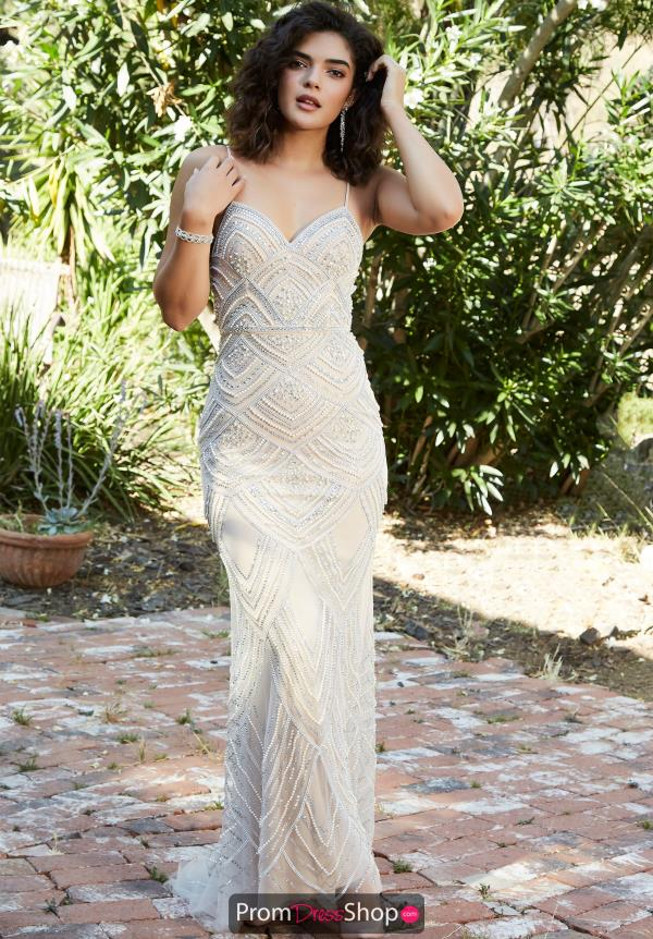 Jolene Beaded Long Dress 18315