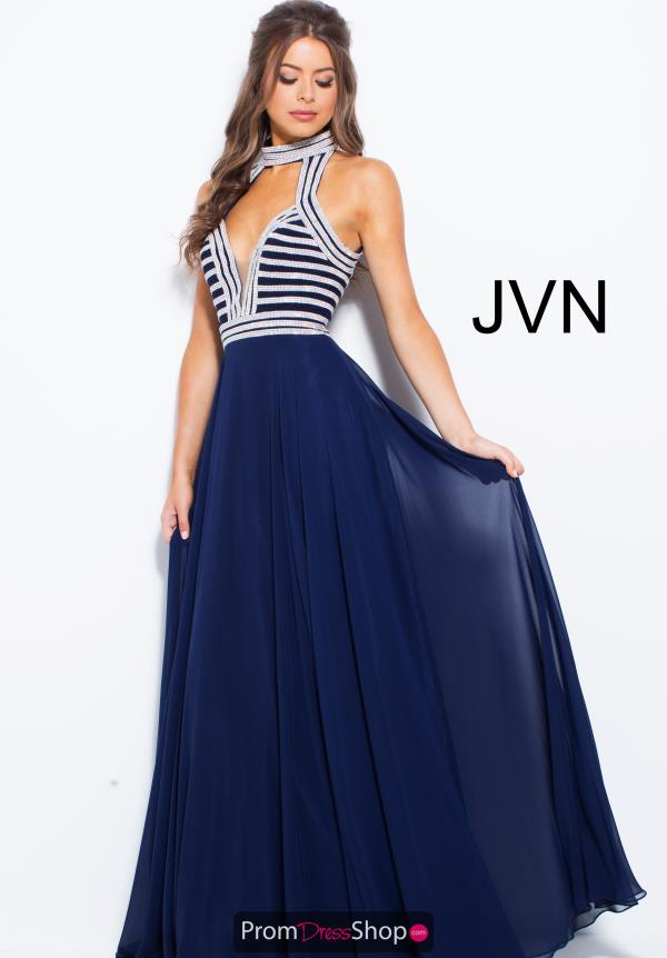 JVN by Jovani Long A Line Dress JVN53380