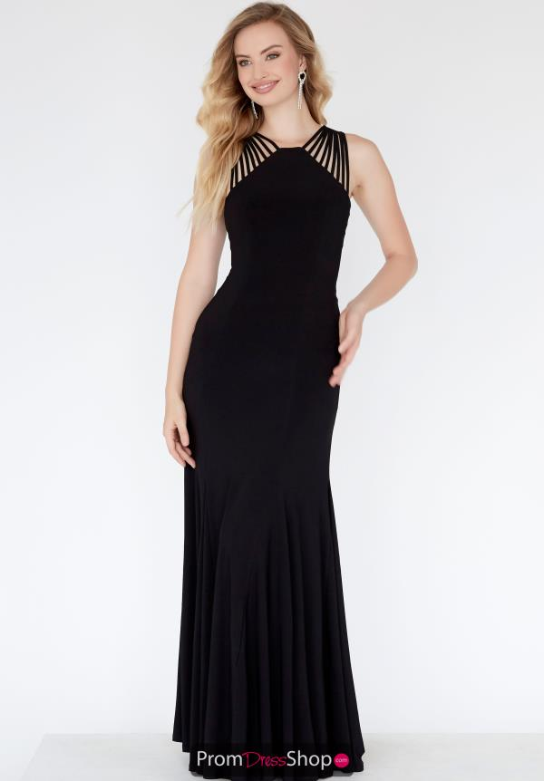 Jolene Fitted Sexy Back Dress E80007