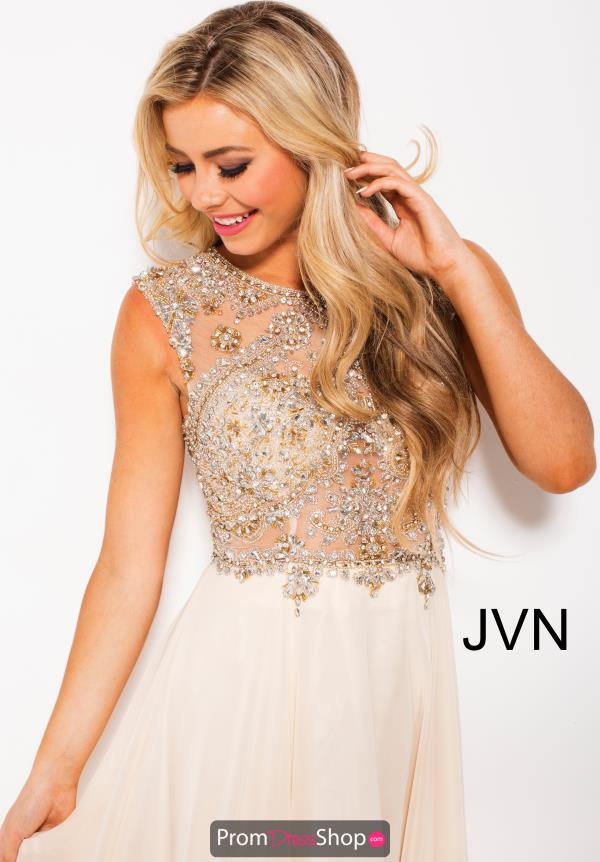 JVN by Jovani Long Chiffon Dress JVN47902