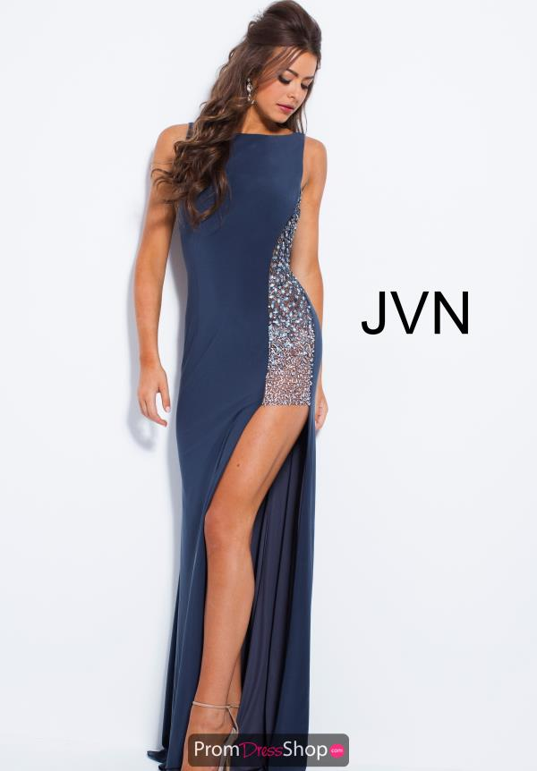 JVN by Jovani Long Jersey Dress JVN48853