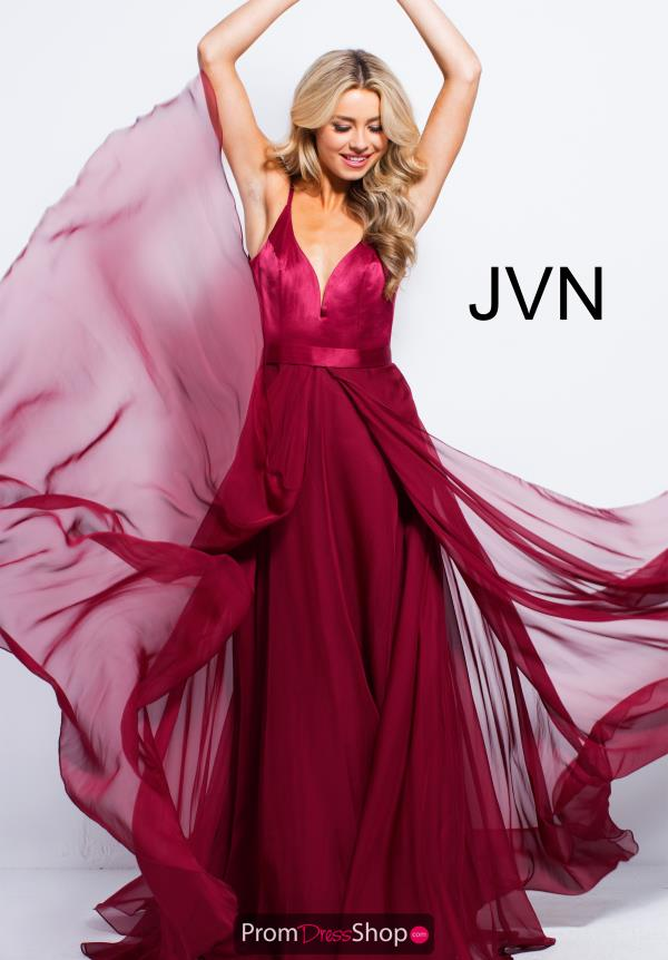 JVN by Jovani Long A Line Dress JVN51181