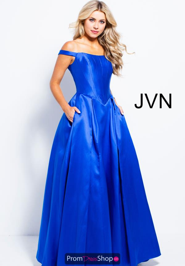 JVN by Jovani Long A Line Dress JVN51356
