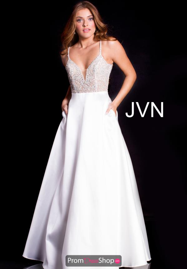 JVN by Jovani Long A Line Dress JVN51488
