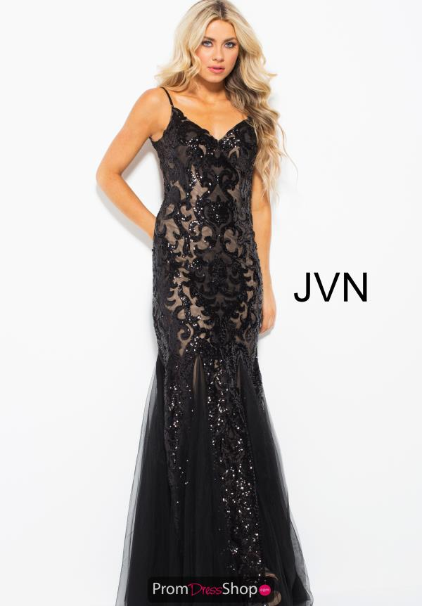 JVN by Jovani Sweetheart Neckline Fitted Dress JVN53214