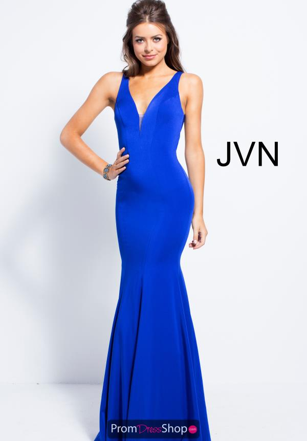 JVN by Jovani Long Fitted Dress JVN58011
