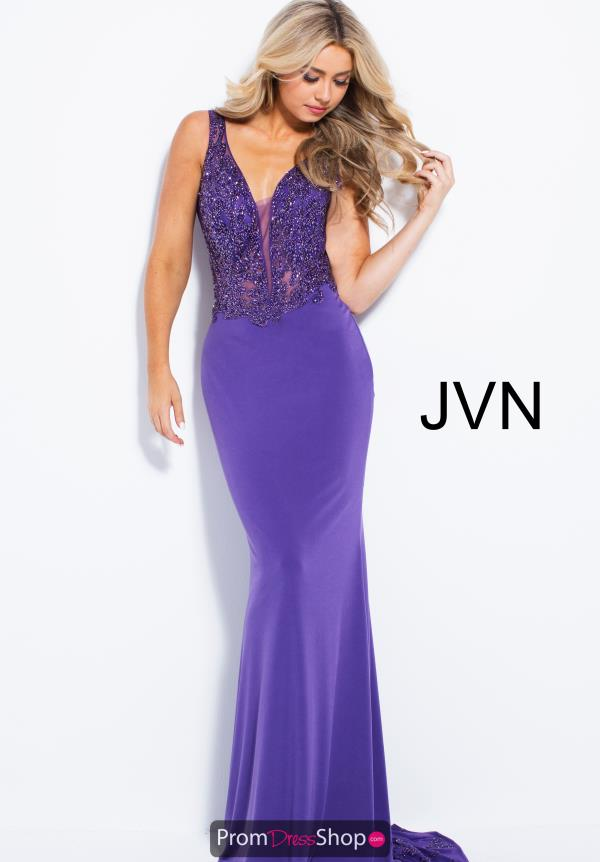 JVN by Jovani Long Jersey Dress JVN58124