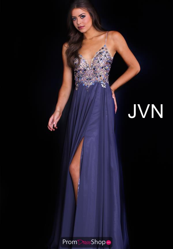 JVN by Jovani Long Beaded Dress JVN59128