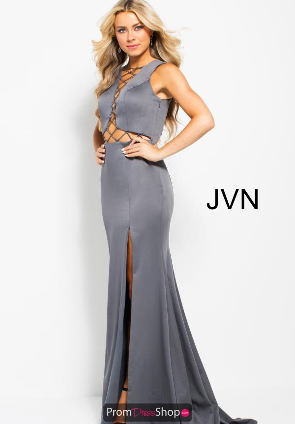 JVN by Jovani Fitted High Neckline Dress JVN59327
