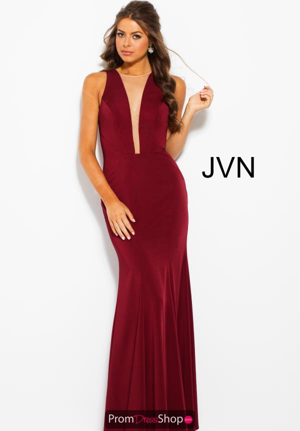 JVN by Jovani High Neckline Fitted Dress JVN59336