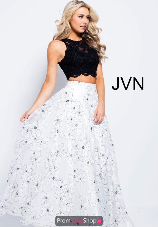 JVN by Jovani Long Print Dress JVN59810
