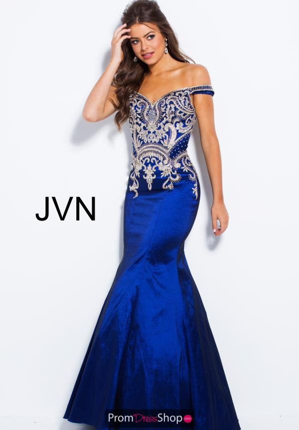 JVN by Jovani Long Beaded Dress JVN61193