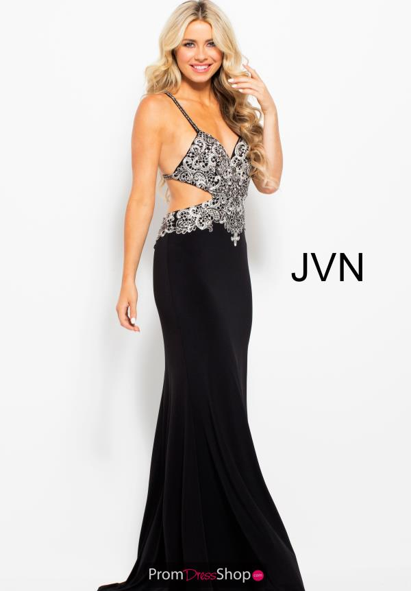 JVN by Jovani Long Jersey Dress JVN50043