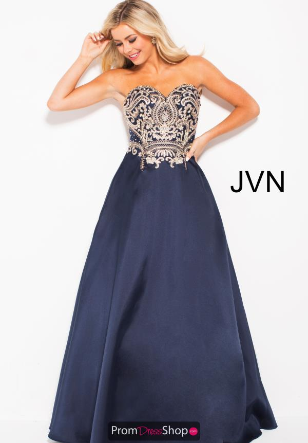 JVN by Jovani Long A Line Dress JVN50070