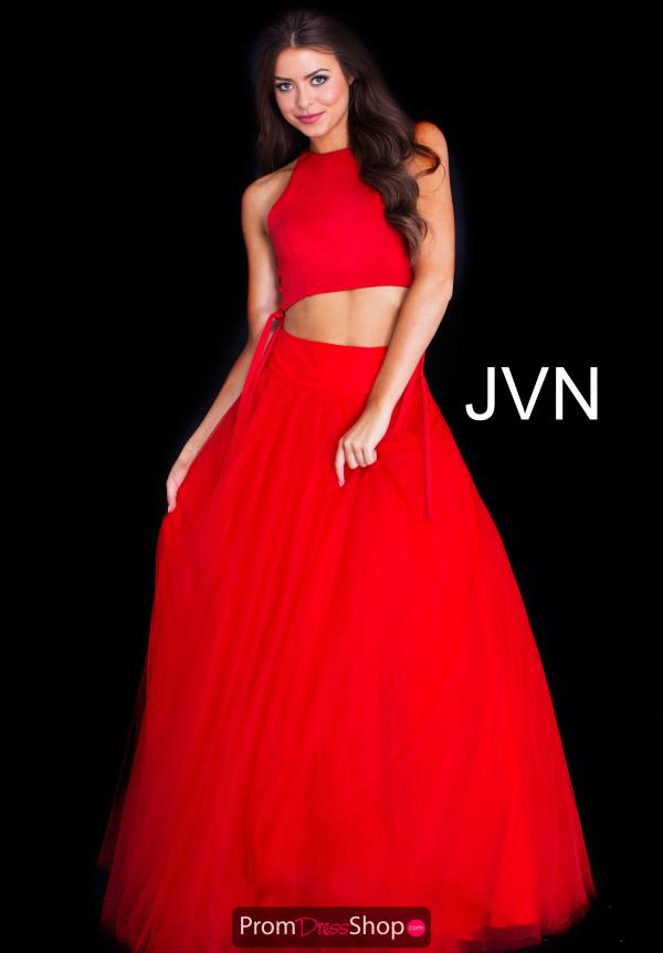 JVN by Jovani Two Piece A Line Dress JVN50742