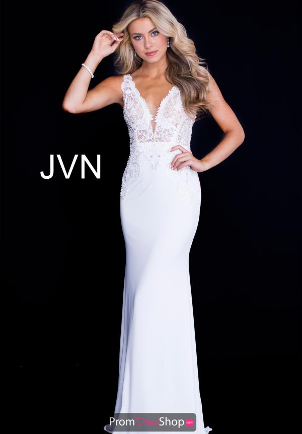 JVN by Jovani Long Jersey Dress JVN50950